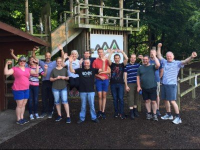 The team at Treetop Adventures